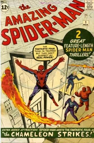 Okładka książki Amazing Spider-Man - #001 - Spider-Man