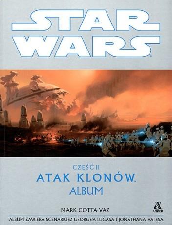 Okładka książki Część II. Atak klonów - album