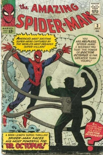 Okładka książki Amazing Spider-Man - #003 - Spider-Man versus Doctor Octopus, the Strangest Foe of All Time