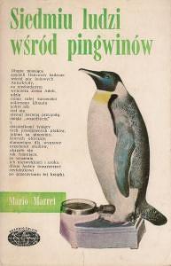 Okładka książki Siedmiu ludzi wśród pingwinów