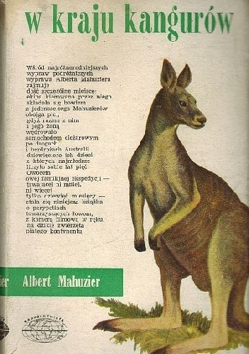 Okładka książki W kraju kangurów