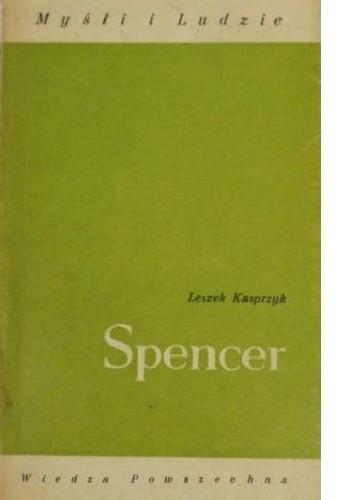 Okładka książki Spencer