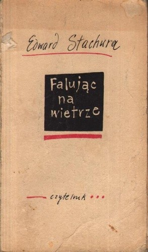Okładka książki Falując na wietrze
