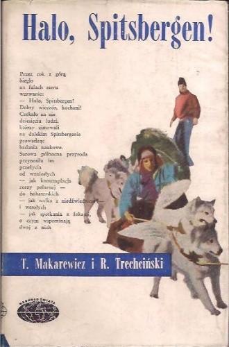 Okładka książki Halo, Spitsbergen!