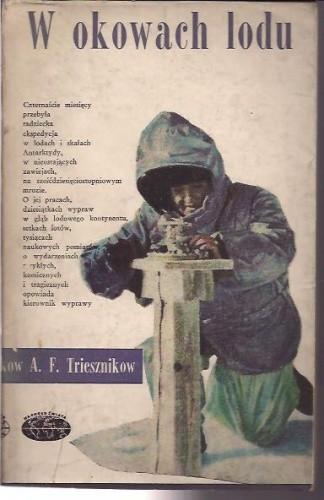 Okładka książki W okowach lodu