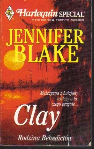 Okładka książki Clay