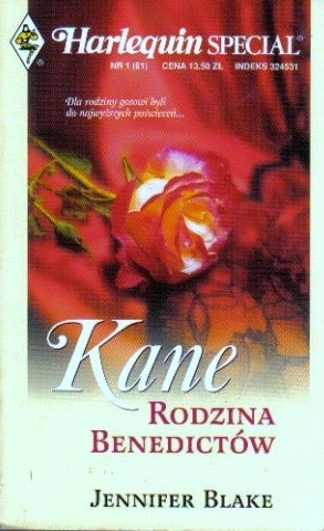 Okładka książki Kane