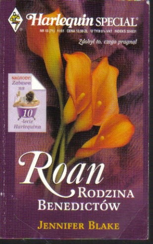 Okładka książki Roan