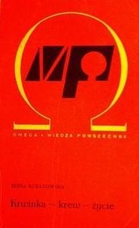 Okładka książki Krwinka - krew - życie