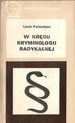 Okładka książki W kręgu kryminologii radykalnej