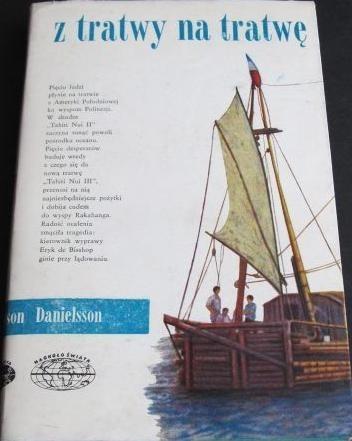 Okładka książki Z tratwy na tratwę