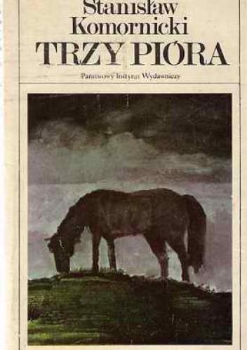 Okładka książki Trzy pióra