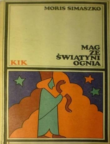 Okładka książki Mag ze świątyni ognia