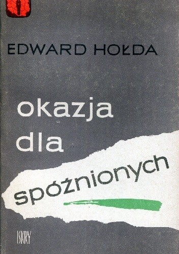 Okładka książki Okazja dla spóźnionych