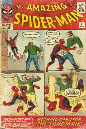 Okładka książki Amazing Spider-Man - #004 - Nothing Can Stop the Sandman!