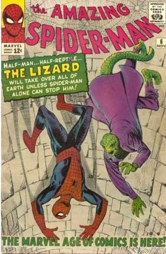 Okładka książki Amazing Spider-Man - #006 - Face-To-Face with... the Lizard!