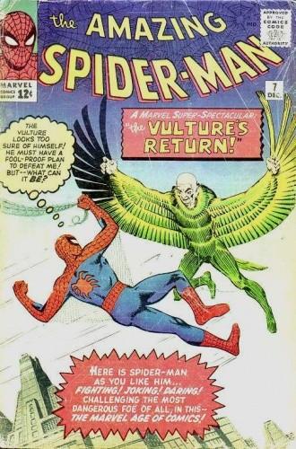 Okładka książki Amazing Spider-Man - #007 - The Return of the Vulture