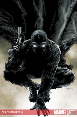 Okładka książki Spider-Man Noir #1