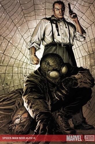 Okładka książki Spider-Man Noir #4
