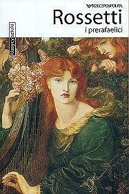 Okładka książki Rossetti i prerafaelici