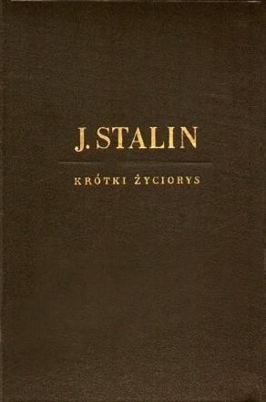 Okładka książki J. Stalin - krótki życiorys