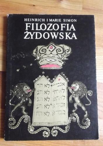 Okładka książki Filozofia żydowska