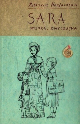 Okładka książki Sara wysoka, zwyczajna