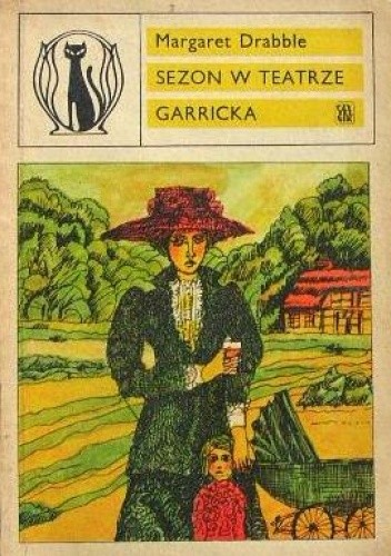 Okładka książki Sezon w Teatrze Garricka