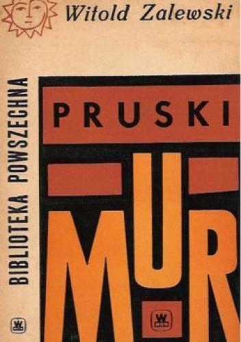 Okładka książki Pruski Mur