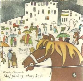 Okładka książki Mój piękny złoty koń