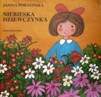 Okładka książki Niebieska dziewczynka
