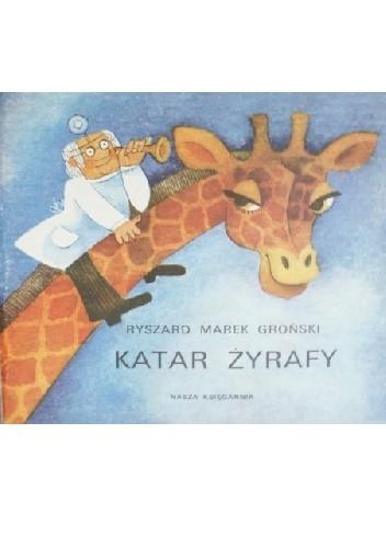 Okładka książki Katar żyrafy