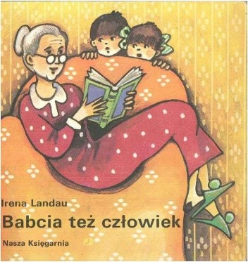 Okładka książki Babcia też człowiek