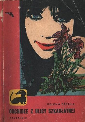 Okładka książki Orchidee z ulicy szkarłatnej