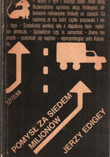 Okładka książki Pomysł za siedem milionów