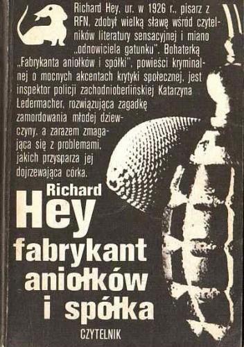Okładka książki Fabrykant aniołków i spółka