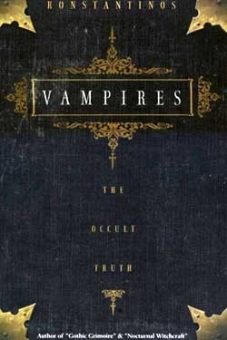Okładka książki Vampires. The Occult Truth