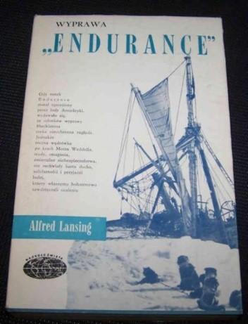 """Okładka książki Wyprawa """"Endurance"""""""