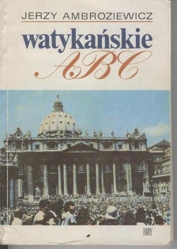 Okładka książki Watykańskie ABC