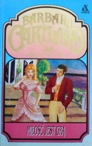 Okładka książki Miłość jest grą