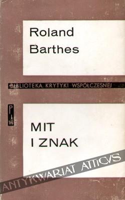 Okładka książki Mit i znak. Eseje