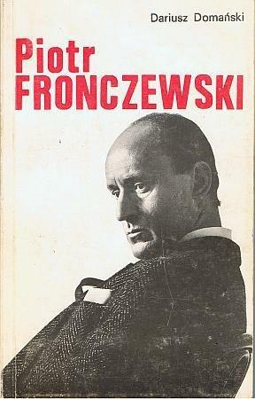 Okładka książki Piotr Fronczewski - próba portretu