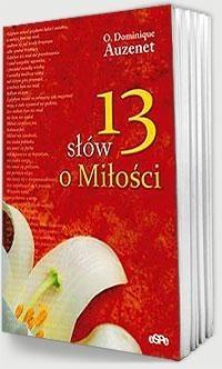 Okładka książki 13 słów o miłości