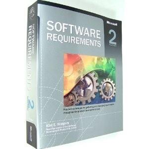 Okładka książki Software Requirements