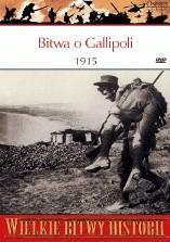 Okładka książki Bitwa o Gallipoli 1915. Frontalny atak na Turcję.