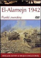 Okładka książki El-Alamejn 1942. Punkt zwrotny