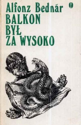 Okładka książki Balkon był za wysoko