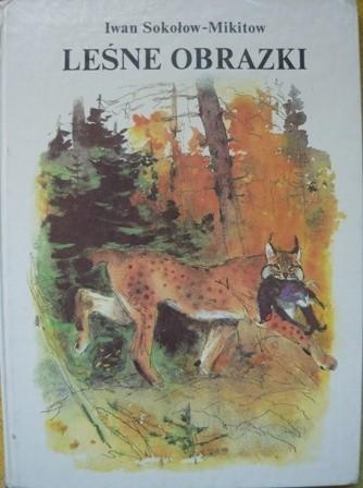Okładka książki Leśne obrazki