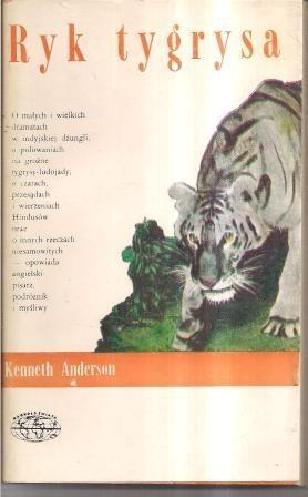 Okładka książki Ryk tygrysa