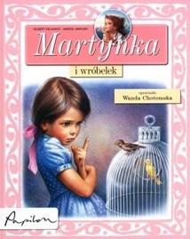Okładka książki Martynka i wróbelek
